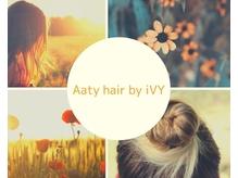 アーティヘアーバイアイヴィ(Aaty hair by iVY)の詳細を見る
