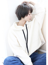 【Un ami】《増永剛大》すっきり×ふんわりマッシュショートボブ パーマ.36