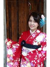 成人式★ふんわりキュート★ カチューシャ.59