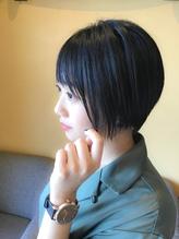 全世代にオススメ!万能丸みハンサムショート【守谷 美容室】.57