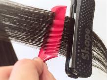 髪質に合わせて薬剤を調合するから、余計なダメージを与えません。柔らかく自然な仕上がりが特徴♪
