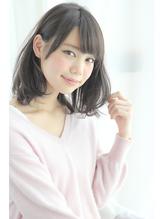 【GARDEN】人気☆耳にかけて小顔ふんわりミディ(田塚裕志) 男ウケ.39