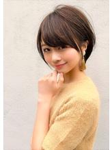 【Lond】津賀雅也 大人可愛い小顔ショートボブ グレージュ 3.46