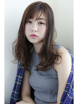【Lycka栄 福井】キーナチュセミディ×グレージュグラデカラー*