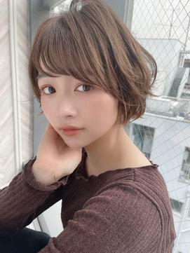 【ROMA銀座】20代30代40代/ショートパーマ/小顔ショートマッシュ