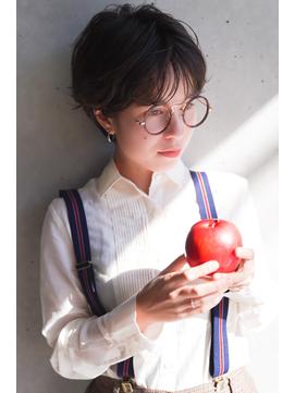 【+~ing】抜け感ハンサムショート【枝 朋美】