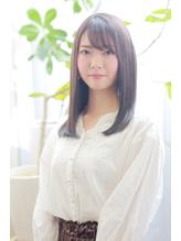 艶髪ワンカール×3Dカラー×シースルーバング.15