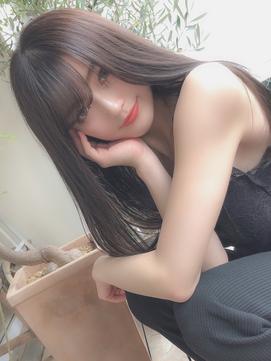 【ami】小顔バング☆透明感ストレート@KANAI