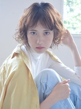 【soy-kufu】カーリーショートヘア