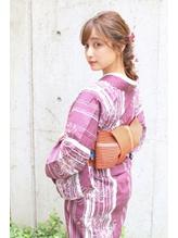 【Neolive &】浴衣×大人可愛いアレンジ.7