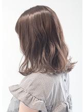 nambu小岩千夏  ブリーチなし☆透明感アッシュベージュ .47