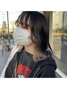 【RITZY】インナーカラー☆セクションカラー☆ウルフカット