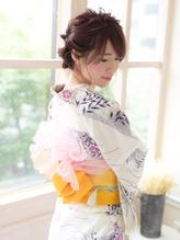 《Barretta/蒲田》☆浴衣着付け☆花火大会☆フィッシュボーン☆ バレッタ.47