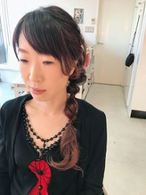 くるりんぱアレンジヘア.17