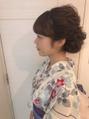 浴衣 着物 パーティー 成人式 卒業式 ヘアアレンジ