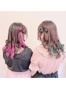 イベントヘア☆編みこみカチューシャ