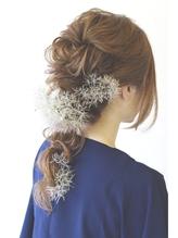 ウェディングヘア まとめ髪.37