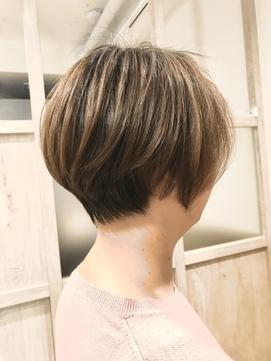 40代50代60代 くせ毛カット くびれヘア -名古屋の美容室actif-