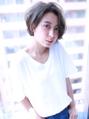 ノーバング小顔ショートアッシュ【Cirrus by Cloud zero】