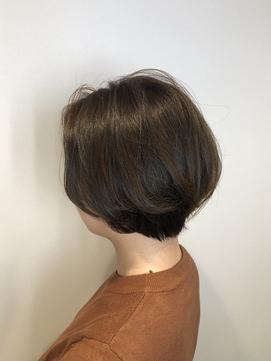 [20代・30代・40代大人女性] ふんわりショートボブ