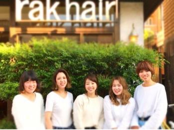 ラクヘアー(rak hair)