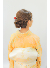 【ヘアセット専門】横浜 元町SOPO★卒園式ママ編み込みアレンジ1 卒園式.27