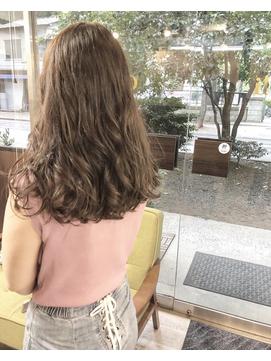 モテ髪ニュアンスカール