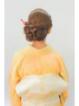 【ヘアセット専門】横浜 元町SOPO★卒園式ママ編み込みアレンジ2 卒園式.28