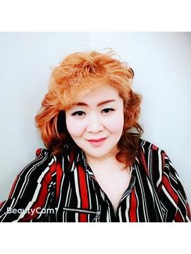 【very-very美容室siomi】巻き髪ースタイル