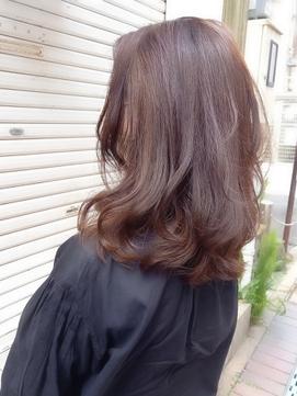 hair sos ツートンカラー♪ベージュ&アッシュ