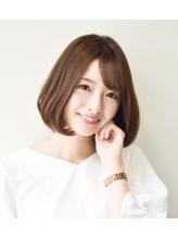 【30代40代】大人可愛い☆ナチュラル小顔ボブ.38