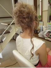 盛り髪&カール 盛り髪.22