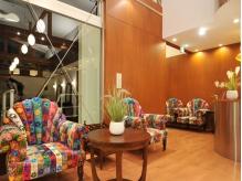 リゾートホテルを思わせる空間で素敵なひとときを・・・。
