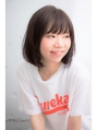 【BAYROOM横浜】メルトカラーグレージュ×小顔ボブ(吉田遼平)