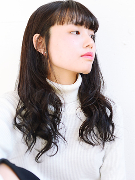 ロング×黒髪