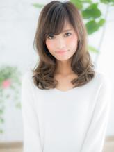 +dumbo与野+ 斜めバング☆ミルクティーカラーが大人かわいいb-2.42