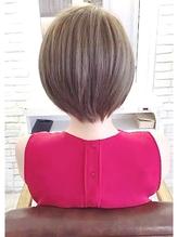 【絶対に頭の形がきれいになる】 大人可愛い小顔ショートヘア 面接.47