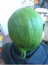 特許取得済★白髪染めの方は≪お茶カラートリートメント≫京都宇治抹茶100%の白髪染めです♪