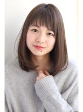 【GARDEN】ミディアム×ストレート×小顔ナチュラル(田塚裕志) 20代.57