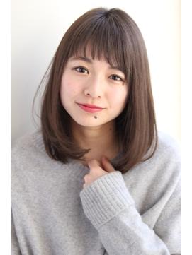【GARDEN】ミディアム×ストレート×小顔ナチュラル(田塚裕志)