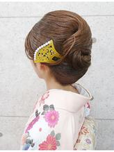 【訪問着ヘア・和髪】抱き合わせの綺麗なヘアアレンジ◆夢館 かんざし.58