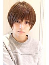 黒髪アッシュ☆かっこ可愛いノームコアxうぶバング ボブ,マッシュ.59