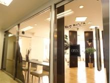 こちらの入口からお入り下さい。エミオ武蔵関4階です。