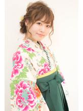 【hair coucou】袴レンタル+着付+ヘアセット 卒業式パック 七五三.56