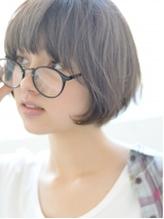 【butterfly郡司泰之】メガネのショートマッシュボブヘア メガネ.15