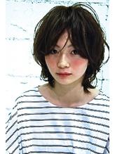 【HoLan】アンニュイルーズカール☆グレージュ♪ウルフカット .24