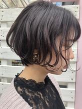 * airy short * 【無造作カール ・デザインカラー】.25