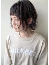 【Cerca高田馬場】外ハネ小顔レイヤーボブ×無造作カール.24