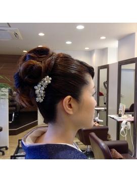 ☆Allure☆しっとり和服に似合うヘアセット