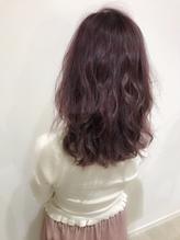 外国人風ピンクアッシュ★ ゆるフワ.10